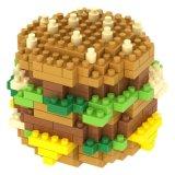 [14889238-ميكرو] قالب عدة طعام [سري] ثبت قالب مبتكر تربويّ [ديي] لعبة [240بكس] - شطيرة لحميّة