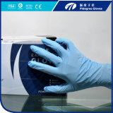 Blaue Nitril-Prüfungs-Handschuhe, pulverisieren freie Nitril-Prüfungs-Handschuhe, Nitril-Handschuhe Malaysia