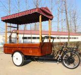 工場のためのコーヒーキオスクが付いている熱い販売の三輪車