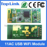 Toplink 11AC 2.4G / 5g Dual Band 433Mbps Embedded USB Wireless Module pour Android TV Box Transmetteur et Récepteur