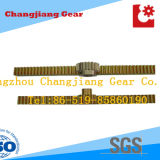 Yellow Zinc Zahnstange Spur Gear