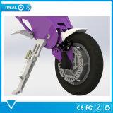 Portable pourpré pliant le vélo électrique de scooter électrique