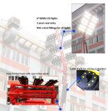 Hydraulischer teleskopischer hoher Mast-beweglicher Schlussteil-Eingehangener Beleuchtung-Dieselaufsatz Gleichstrom-LED