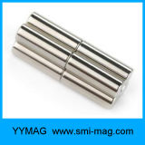 Cilinder van de Magneet van NdFeB van de zeldzame aarde de Permanente
