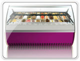 22 Pratos Gelato Ice Cream Showcase Freezer