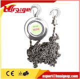Élévateurs à chaînes 1t-20t d'acier inoxydable de qualité