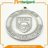 Medaglia d'argento di vendita calda di alta qualità