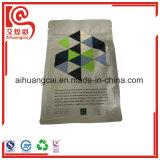El acondicionamiento de los alimentos plástico del papel de aluminio se levanta el bolso