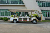 Veicolo facente un giro turistico elettrico della sosta dell'hotel di Rariro 14 Seater con la certificazione del Ce