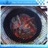 Сетка волнистой проволки нержавеющей стали используемая для барбекю