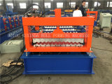Farben-gewölbte Metalldach-Blatt-Formungs-Maschine