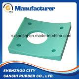 Arandela de goma de silicona de encargo del OEM para el sellado