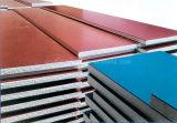 Het goedkope EPS (het schuim van het Polystyreen) EPS van het Comité van de Sandwich Comité van de Muur dat van de GolfStaalplaat van de Staalplaat van de Staalplaat PPGI Geprofileerde Met een laag bedekte Kleur wordt gemaakt