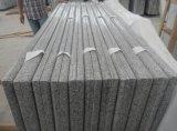 G603 Bianco White / Gray Granite Tiles para revestimento de parede / revestimento