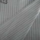 Tela teñida hilado tejida popelín de la raya del algodón para las camisas/alineada Rls40-48po