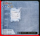 Tissu 10oz de denim de sergé de mèche de coton tissé par vente en gros