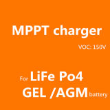 Contrôleurs solaires de charge de la batterie 70A MPPT du système 12V 24V 36V 48V de panneau solaire de COV 150V