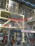 1100mm PET-ABC 3 Schichten Koextrusion-Film-durchbrennenmaschinen-mit doppelter Friktions-Winde und Weighter Controller