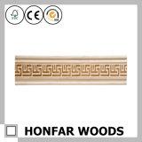 """coroa da madeira de pinho """" X4 """" de 1/2 que molda para a decoração do teto"""
