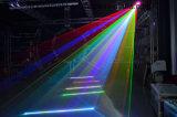 2W RGB farbenreiches bewegliches Kopf-Laserlicht