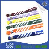 Wristband tejido tela del acontecimiento de ventas directas de la fábrica