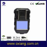 Macchina fotografica portata corpo Ox-Zp605W della polizia di applicazione di legge di WiFi 1080P