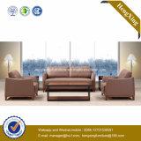 Modernes Büro-Möbel-echtes Leder-Couch-Büro-Sofa (HX-CF010)