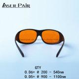 Protéger les lunettes de sécurité des lasers 532nm et 1064nm pour le ND : YAG 532 à commutation de Q et matériel de 1064nm, de lasers de YAG, médical et d'hôpital