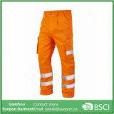Pantaloni riflettenti resistenti del Workwear di sicurezza della miniera di carbone del blu marino