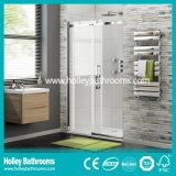 Douche de vente chaude de rectangle glissant la pièce avec le bâti d'alliage d'aluminium (SE907C)