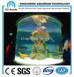 Matériel acrylique rond personnalisé Acrylique Aquarium