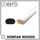 Barandilla de madera sólida del material de construcción para el europeo