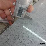 Pierres à quartz artificiel à haute densité blanc pur pour la cuisine