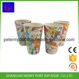 Cruche d'eau en bambou de fibre, bidon d'arrosage de ménage de vente en gros d'usine de la Chine