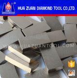 Segmento do diamante da peça das ferramentas de potência para o granito da estaca