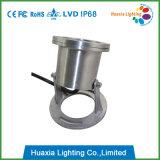 lumière sous-marine de l'acier inoxydable DEL de 9W IP68 304
