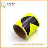 Película reflexiva reflexiva de la cinta adhesiva de la precaución de la seguridad del PVC