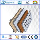 Алюминиевая панель плакирования стены
