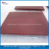 maglia dello schermo di colore rosso 65mn per il frantoio per pietre