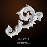 Het Vormen Pu van het Meubilair Appliques en Onlays van het polyurethaan Ornamenten hn-S011