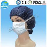 Maschera di protezione di carta. maschera di protezione di carta 1/2ply con elastico