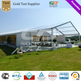 すべてのイベントおよび機会のための500か1000人の屋外の大きく明確な玄関ひさしの透過テント