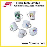 Tasses en céramique promotionnelles d'OEM/ODM avec le traitement