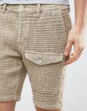 Shorts strutturati del carico del Heavyweight sottile in pietra