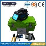 Fábrica óptica de China del precio bajo de la máquina de la encoladora de la fusión