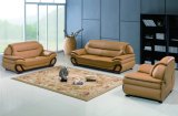Wohnzimmer-Möbel-modernes ledernes Sofa-Set mit Freizeit-Entwurf