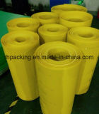 Yellow Blue Grey PP Rouleaux en plastique ondulé 2mm / 3mm pour protection 2mm 300G / M2 3mm 500G / M2