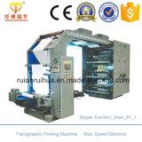 Papier de roulis large de format et imprimante flexographique de film avec du CE