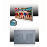 55 pulgadas de la versión de red y controlador remoto digital de Señalización Digital / LCD de visualización de publicidad IR