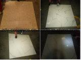 Baumaterial-weiße Marmorblick-voll polierte glasig-glänzende Fußboden-Stein-Fliese
